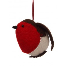 Felt Robin Christmas Decoration