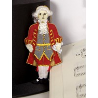 Mozart Christmas Tree Decoration