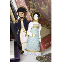 Jane Austen's Anne Elliot Christmas Tree Decoration