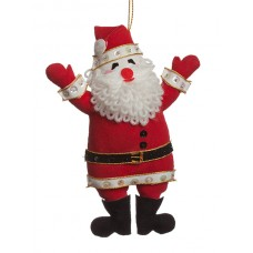 Red Father Christmas Ornament