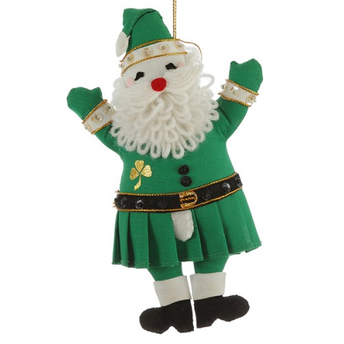 Irish Father Christmas Ornament