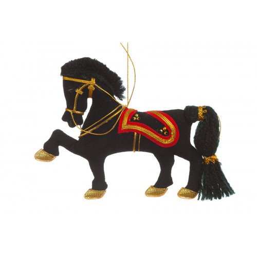 Black Household Cavalry Horse