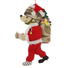 Santa Bear Christmas Decoration