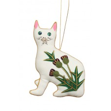 Thistle Wemyss Cat Christmas Decoration