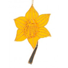 Daffodil Welsh Christmas Tree Decoration