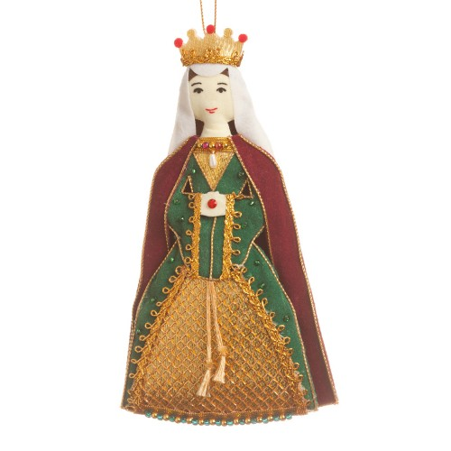 Matilda of Flanders Christmas Tree Decoration