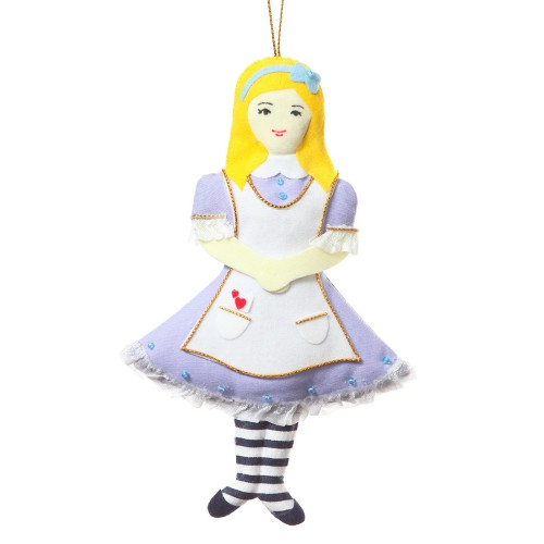 Alice in Wonderland Christmas Tree Decoration