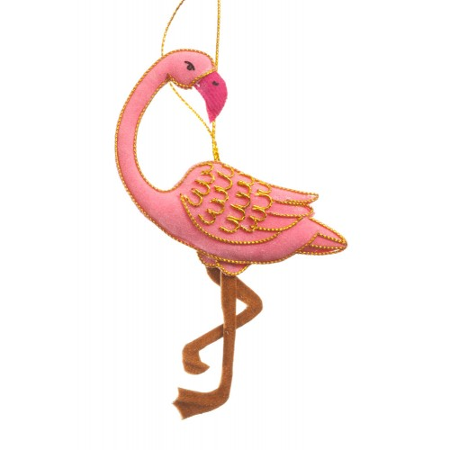 flamingo christmas tree decoration - Flamingo Christmas Decorations