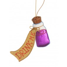 Alice in Wonderland Potion Bottle Decoration
