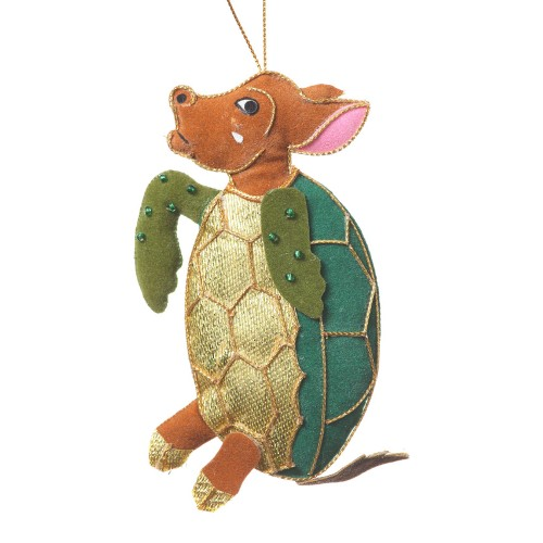 Alice's Mock Turtle Christmas Decoration