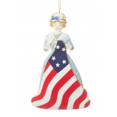 Betsy Ross Christmas Ornament