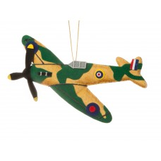 RAF Spitfire Christmas Decoration