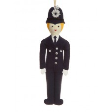 Policeman Christmas Ornament