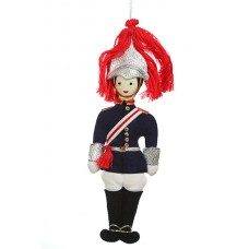 Blues and Royals Christmas Ornament