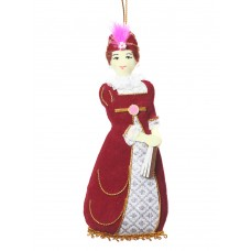 Dolley Madison Christmas Ornament