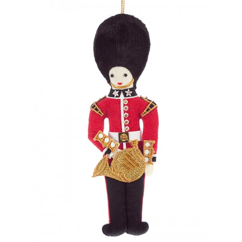 Bandsman with French Horn Christmas Ornament