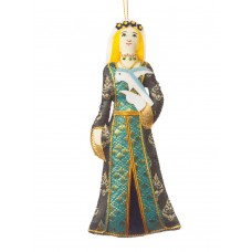 Medieval Lady Christmas Decoration