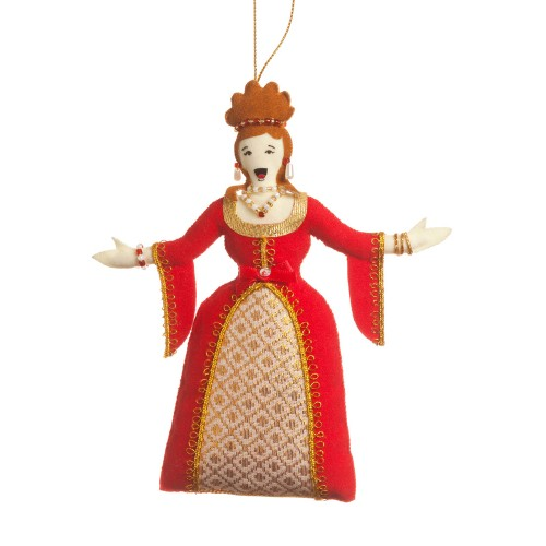 Opera Diva Christmas Ornament