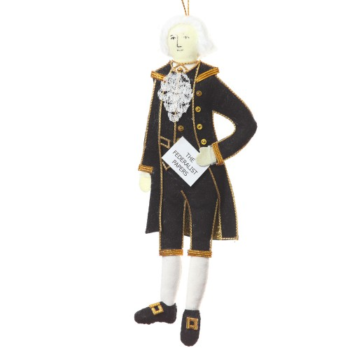 Hamilton Christmas Ornament.Alexander Hamilton Christmas Ornament