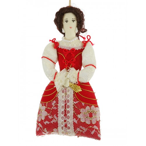 Nell Gwyn Handmade Christmas Decoration