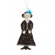 Pearly Queen Christmas Tree Decoration