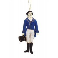 Mr Darcy Christmas Tree Decoration