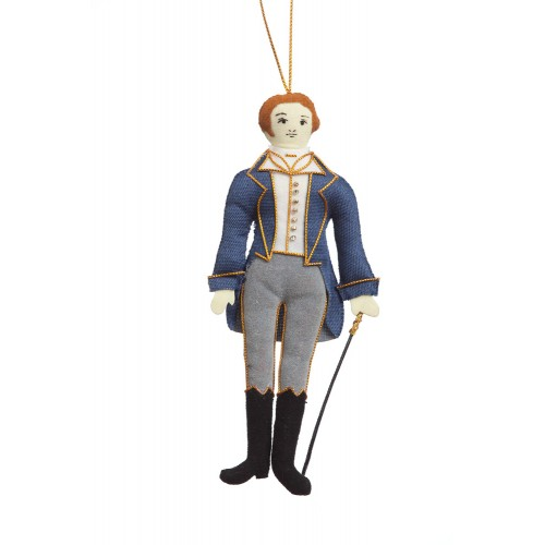 Jane Austen's Mr Knightley Christmas Tree Decoration
