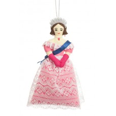 Pink Princess Chirstmas Tree Ornament