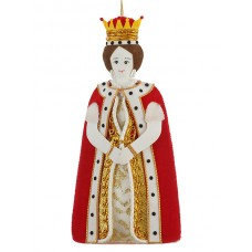 Queen Christmas Tree Decoration