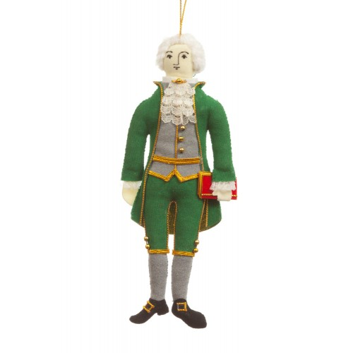 President Thomas Jefferson Christmas Ornament