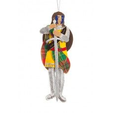 William Wallace Christmas Tree Decoration