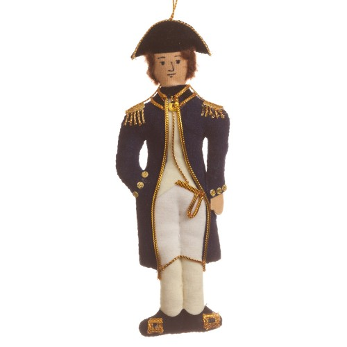 Jane Austen's Captain Wentworth Christmas Ornament