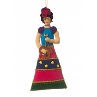 Frida Kahlo Christmas Decoration