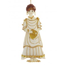 Roman Lady Handmade Ornament for Christmas