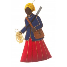 Harriet Tubman Christmas Tree Ornament
