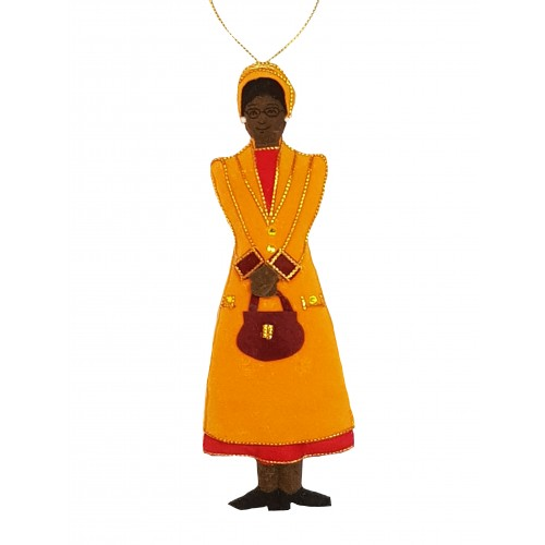 Rosa Parks Christmas Ornament