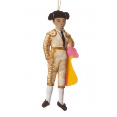 Manolete Bullfighter Christmas Decoration