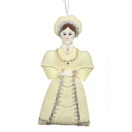 Kathryn Howard Tudor Christmas Decoration