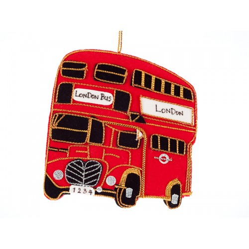 Bus Christmas Ornament