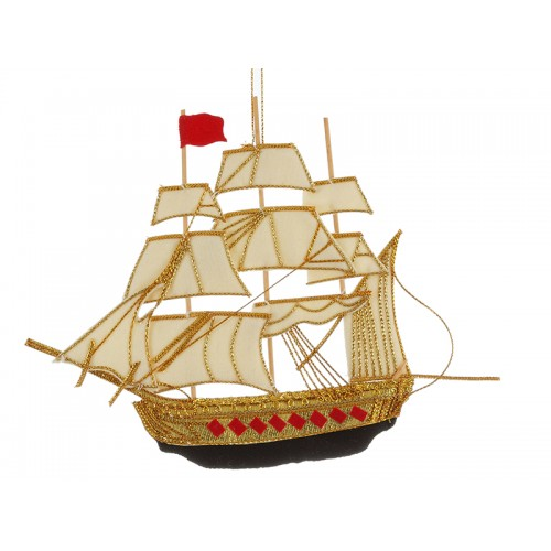 HMS Victory Nautical Christmas Ornament