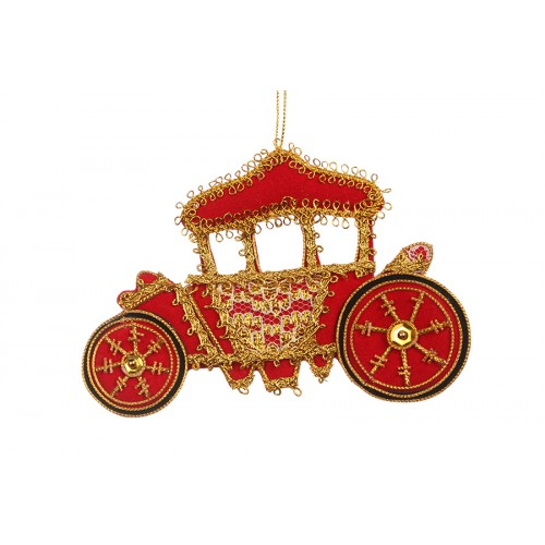 Lord Mayor's Coach Christmas Ornament