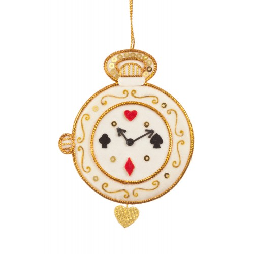 Alice in Wonderland Pocket Watch Decoration