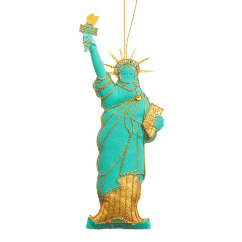 Statue of Liberty Christmas Ornament