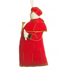 Cardinal Wolsey Christmas Tree Decoration