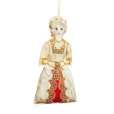 First Lady Martha Washington Christmas Ornament