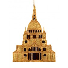 Gold St. Pauls Cathedral Christmas Decoration