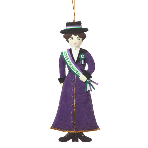 Suffragette Christmas Tree Decoration