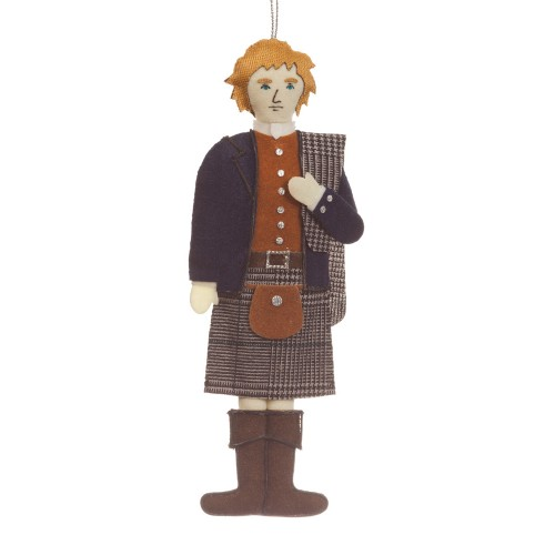Highlander Christmas Ornament
