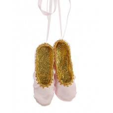 Pink Ballet Shoe Christmas Decoration