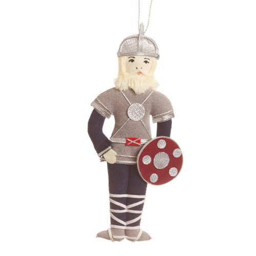 Viking (no horns) Christmas Ornament